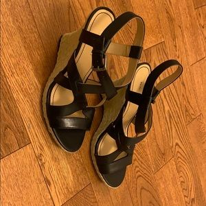 Nine West Showntell Wedge Sandals